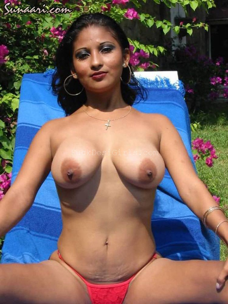 Hot girls naked on th side of a pool