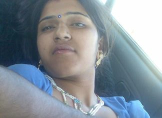 Tamil aunty ke boobs nashe mei gaadi mei khole